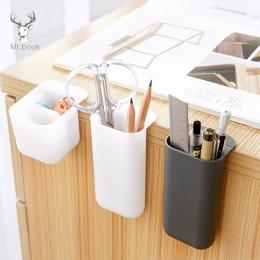 Kreatywny Pasteable uchwyt na długopis pudełka do przechowywania na biurko biurko długopis ołówek organizator Office rozmaitości