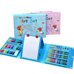 288 sztuk dla dzieci prezent akwarela do rysowania artystycznego Marker zestaw pędzelków dzieci malowanie Art zestaw dla dzieci