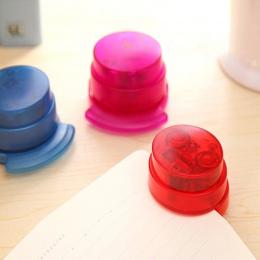1 Pc praktyczne zszywacz bezpłatny zszywacz papieru wiążące spoiwa bez ramiączek artykuły papiernicze