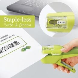 Japonia KOKUYO Harinacs odcinkowych zszywacz zszywacz duży kreatywny odcinkowych-mniej instrukcja zszywacz biurowe bezpieczne ła