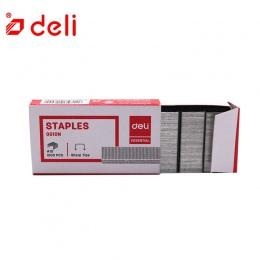 Deli 1000 sztuk/pudło zszywki biuro metalowe zszywki nr 10 do zszywacz zszywki srebrny normalne odcinkowych szczypce winogron do