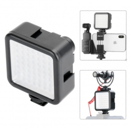 Kieszeń na aparat fotograficzny Mini LED lampa wideo fotografia światła wypełniającego 3 do montażu na gorąco dla DJI Osmo kiesz