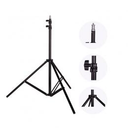 Zdjęcie 2 M (79in) lekki statyw statyw z 1/4 śrubą do zdjęć Studio Softbox wideo Flash parasole reflektor lampa pierścieniowa