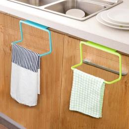 Drzwi herbata wieszak na ręczniki wieszak na ubrania Rail organizator łazienka szafka szafka wieszak akcesoria kuchenne TB sprze