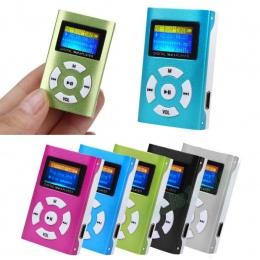 AIKEGLOBAL Hifi USB Mini MP3 odtwarzacz muzyczny podpórka ekranu LCD 32 GB Micro karta SD TF Sport moda 2017 marki w nowym stylu