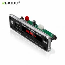 KEBIDU bezprzewodowy Bluetooth 5 V 12 V MP3 WMA dekoder pokładzie moduł Audio wsparcie USB SD AUX FM Audio moduł radiowy na akce