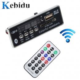 Kebidu samochód USB Bluetooth Hands-free MP3 odtwarzacz zintegrowany MP3 dekoder moduł tablicy z pilot USB FM Aux Radio do samoc
