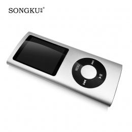 SONGKU 4TH GEN 1.8 Cal ekran Real 16 GB 32 GB wbudowanej pamięci Mp3 odtwarzacz muzyki z radia FM E-book MP3 odtwarzacz