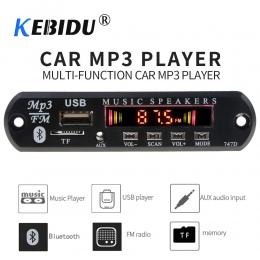 Kebidu Bluetooth odbiornik do samochodu zestaw MP3 odtwarzacz pokładzie dekoder kolorowy ekran radia FM TF USB 3.5 Mm AUX Audio