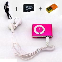 MP3 kolorowe Mini Mp3 odtwarzacz muzyczny Mp3 odtwarzacz karty Micro TF gniazdo USB MP3 Sport Player Port USB z słuchawki 2 GB k