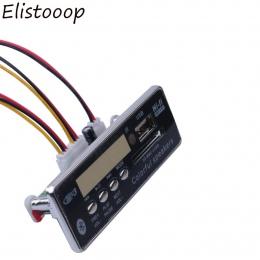 2018 USB Bluetooth Hands-free MP3 odtwarzacz zintegrowany MP3 dekoder moduł tablicy Radio FM pilot USB FM Aux Radio do samochodu