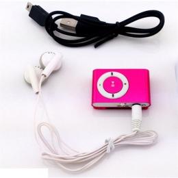 Przenośny Mini Mp3 odtwarzacz muzyczny Mp3 odtwarzacz obsługuje karty Micro karta tf gniazdo USB MP3 Sport Player Port USB z słu