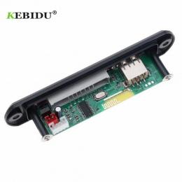 KBBIDU 5 V 12 V Bluetooth MP3 odtwarzacz pokładzie dekoder MP3 pokładzie dekoder Radio FM TF USB 3.5 Mm WMA odbiornik audio aux