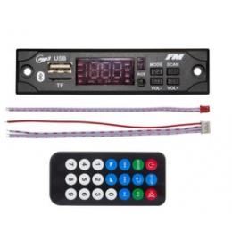 2019 MP3 WMA dekoder pokładzie MP3 odtwarzacz samochodowy Audio USB TF Radio FM moduł bezprzewodowy Bluetooth 5 V 12 V pilot zda