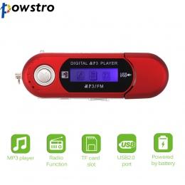 Ładowarka USB cyfrowy MP3 odtwarzacz ekran LED Radio FM obsługa karty TF maksymalna pojemność 32 GB z wbudowany w 3.5mm audio gn