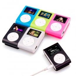 HIPERDEAL 2019 MP3 odtwarzacz Mini mediach muzycznych klip przenośny odtwarzacz LCD ekran USB obsługuje karty Micro karta SD TF