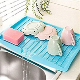 Nowy miska puchar ociekaczem odpływu zlewu naczynia z tworzywa sztucznego taca sztućce płyta filtracyjna regały do przechowywani