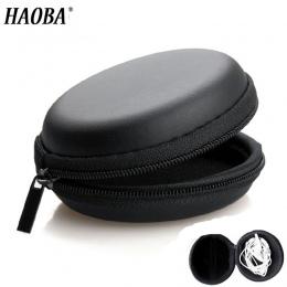 HAOBA uchwyt na słuchawki uchwyt na etui do przenoszenia ciężka torba Box Case na słuchawki akcesoria do słuchawek karta pamięci