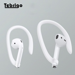 Ochronna na uszy, uchwyt na bezpieczne dopasowanie haki dla Airpods Apple bezprzewodowe słuchawki akcesoria silikonowe sportowe