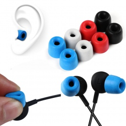 Najlepiej sprzedający się 3 para/zestaw T400 uniwersalny pianki słuchawki douszne ucho porady dla douszne słuchawki miękkie i ła