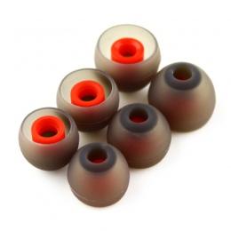 NICEHCK 3 pary (6 sztuk) L M S w ucho porady słuchawki silikonowe wkładki douszne/rękaw ucho/końcówki douszne/słuchawki douszne