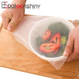 BalleenShiny wielofunkcyjny silikonowy uszczelnienie żywności trzymać próżniowe folii lodówka kuchenka mikrofalowa zachować świe