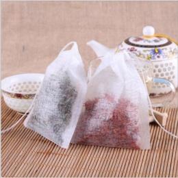 100 sztuk/partia torebki 5.5x7 CM puste torebki na herbatę z Seal filtr papier do Herb luźne herbaty Bolsas de te