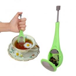 CARRYWON zaparzacz do herbaty sitko do herbaty wbudowany tłok filtr do herbaty zdrowy, intensywny wielokrotnego użytku gadżet na