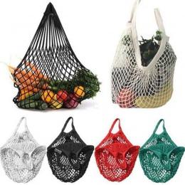 Torba na zakupy dużego ciężaru praktyczny ekologiczny wielokrotnego użytku owoce zakupy worek strunowy Supermarket spożywczy baw