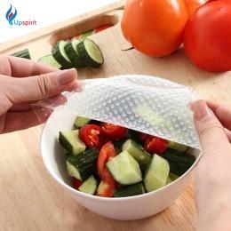Nowy 4 sztuk wielofunkcyjny żywności świeże utrzymanie Saran Wrap narzędzia kuchenne folia silikonowa wielokrotnego użytku do pr
