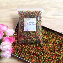 10000 sztuk/worek kryształowe gleby hydrożel żel koraliki z polimeru wody kwiat/ślub/dekoracja Maison rosnące kule wodne duży wy