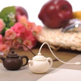 Szczegółowe informacje na temat czajnik-kształt sitko do zaparzacza silikonowe torebkę liść filtr dyfuzor Colador de te herbaty