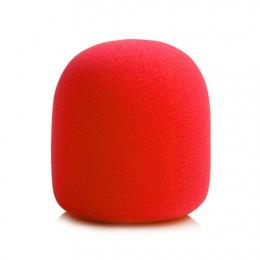 Kolorowe szyby przedniej mikrofon szyby rejestrator gąbka piłka typu pokrywy filtr piankowy dla ZOOM H1 H 1 rejestrator Mic