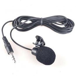 Mini 3.5mm Mikrofon bez użycia rąk Lavalier Lapel Mikrofon przewodowy klip do komputera Pc Iphone Smartphone Micro Cravate Mikro
