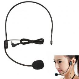 3.5mm przewodowe Headworn mikrofon mikrofon MIC dla wzmacniacz głosu głośnik głośnik na wykład nauczanie przewodnik konferencyjn