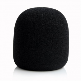 Gorąca sprzedaż czarny zestaw słuchawkowy wymiana Mikrofon ręczny mikrofon Grill przedniej szyby osłona przeciwwiatrowa gąbka pi