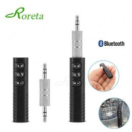 Mini Bluetooth odbiornik aux adapter bluetooth 3.5mm Jack bluetooth nadajnik dźwięku zestaw głośnomówiący dla samochodów Auto mu