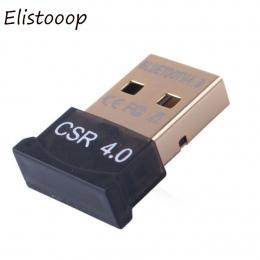 Bezprzewodowy USB Bluetooth 4.0 Adapter wtyczka Bluetooth muzyka dźwięk Adapter odbiornika nadajnik Bluetooth do komputera PC La