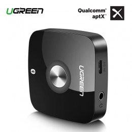 Ugreen bezprzewodowy odbiornik Bluetooth 4.2 3.5mm jack aptx Aux 3.5 odbiornik muzyczny Bluetooth HiFi Audio Adapter samochodowy