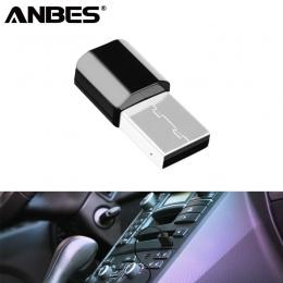 Mini Bluetooth Audio AUX odbiornik samochodowy Adapter 3.5mm bezprzewodowy przenośne głośniki muzyki receptora USB do multimedia