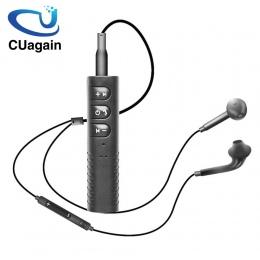 CUagain bezprzewodowe słuchawki odbiornik Bluetooth słuchawki bezprzewodowy zestaw słuchawkowy Bluetooth 3.5mm przewodowe słucha