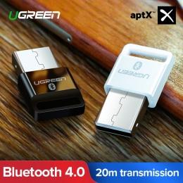 Ugreen USB nadajnik Bluetooth odbiornik 4.0 Adapter klucz aptx bezprzewodowe słuchawki muzyki z komputera receptora Audio Blueto