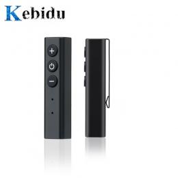 Kebidu Pen klip Bluetooth 4.0 odbiornik Adapter słuchawek dla iPhone Xiaomi bezprzewodowy zestaw głośnomówiący Adapter muzyczny