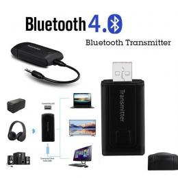 EastVita Bluetooth V4 nadajnik bezprzewodowy A2DP Stereo 3.5mm kabel AUX klucz odbiornik Audio dla PC TV słuchawki r10