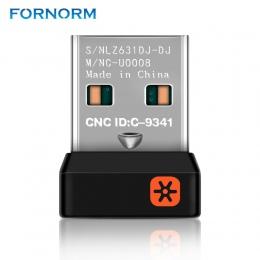Klucz bezprzewodowy odbiornik Unifying Adapter USB dla Logitech klawiatura z myszką podłączyć 6 urządzenie do MX M905 M950 M505