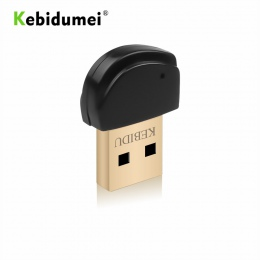 Kebidumei USB adaptera Bluetooth odbiornik V5.0 bezprzewodowy Mini USB wtyczka Bluetooth 5.0. Odbiornik do komputera PC bezprzew