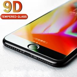 MEIZE 9D szkło ochronne dla iPhone 7 ochraniacz ekranu iPhone 8 Xs Xs Max szkło hartowane na iPhone X 6 6 s 7 8 Plus Xs szkło