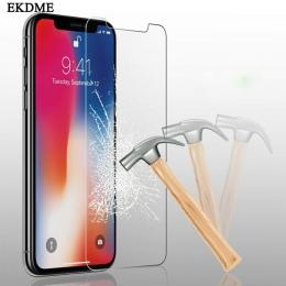 Szkło hartowane dla iPhone XS XR XS MAX ekran Protector pokrywa dla iPhone 8X7 6 6 S Plus 5 5S SE XS 6.1 6.5 5.8 cal 2019