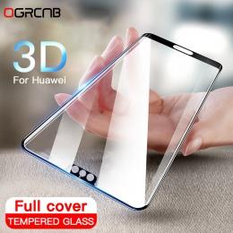 3D pełna pokrywa szkło hartowane dla Huawei P20 Pro P10 Lite Plus osłona ekranu dla Huawei P20 Honor 10 szkło ochronne