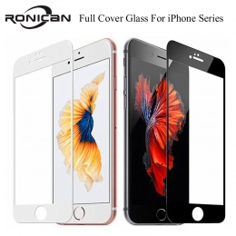 9 H pełne pokrycie pokrywa szkło hartowane dla iPhone 6 6 s Plus osłona ekranu folia ochronna dla iPhone 7 8 Plus X XS 5 5S 5c S
